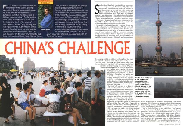 CHINA'S CHALLENGE