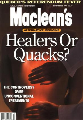 Cover for the September 25 1995 issue