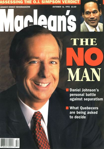Issue: - October 1995 | Maclean's