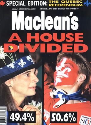Cover for the November 6 1995 issue