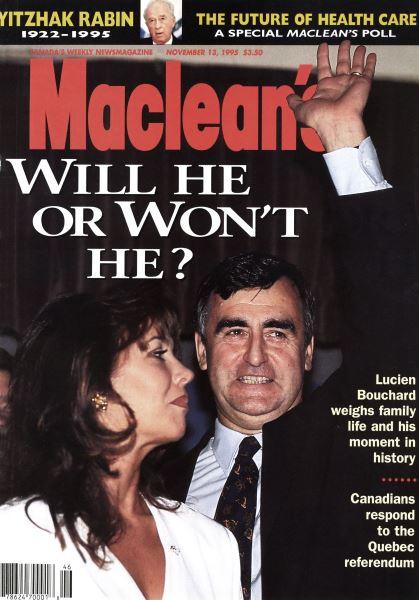 Issue: - November 1995 | Maclean's