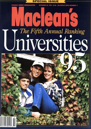 Cover for the November 20 1995 issue