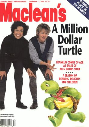 Cover for the December 11 1995 issue