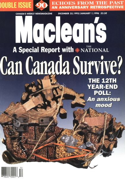 Issue: - DECEMBER 25,1995/JANUARY 1, 1996 | Maclean's