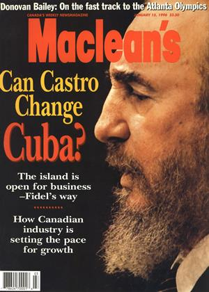 Cover for the January 15 1996 issue