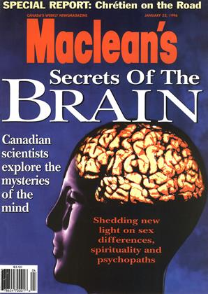 Cover for the January 22 1996 issue