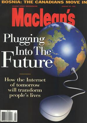 Cover for the January 29 1996 issue