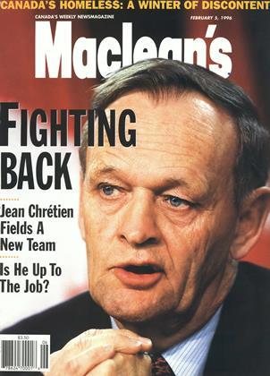 FEBRUARY 5, 1996 | Maclean's