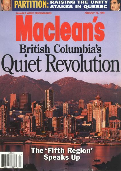 Issue: - February 1996 | Maclean's