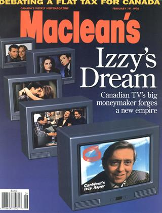 Cover for the February 19 1996 issue