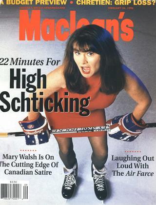 FEBRUARY 26, 1996 | Maclean's