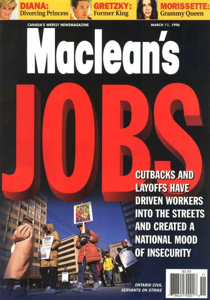 Issue: - March 1996 | Maclean's