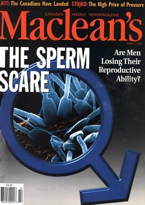 APRIL 1, 1996 | Maclean's