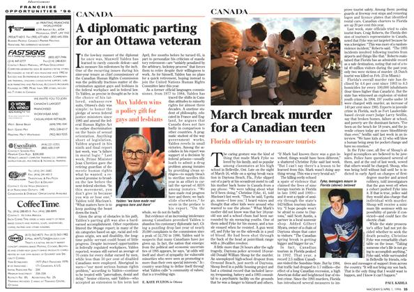 March break murder for a Canadian teen   Maclean's   APRIL 1, 1996