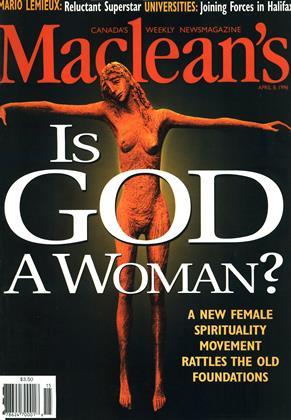APRIL 8, 1996 | Maclean's
