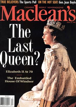 Cover for the April 22 1996 issue