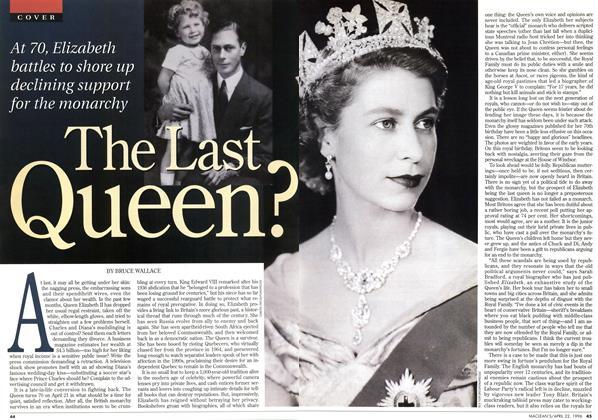 The Last Queen?