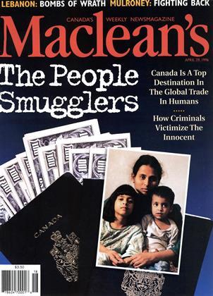 APRIL 29, 1996 | Maclean's