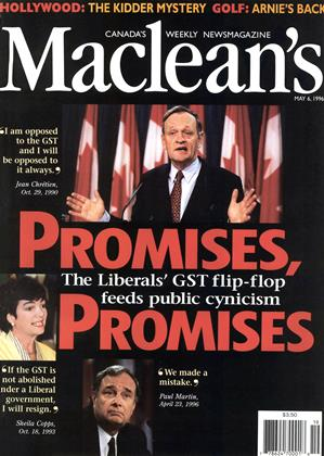 Cover for the May 6 1996 issue