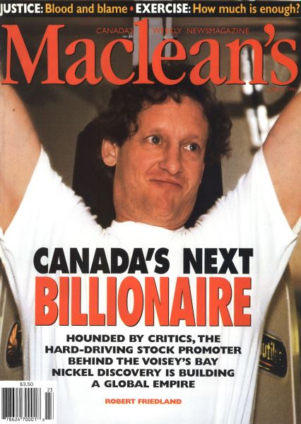 Issue: - JUNE 3,1996 | Maclean's