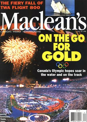 Cover for the July 29 1996 issue