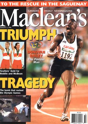 Cover for the August 5 1996 issue