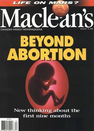 AUGUST 19, 1996 | Maclean's