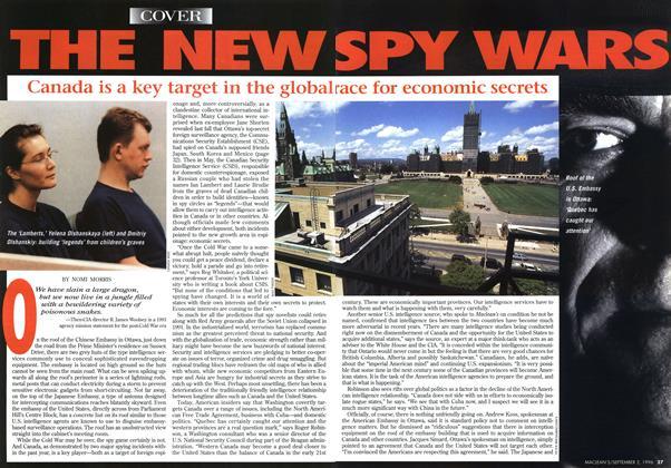 THE NEW SPY WARS