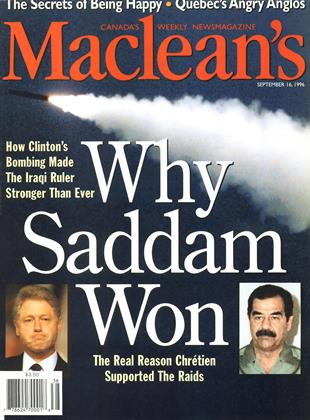 Cover for the September 16 1996 issue