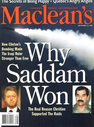 SEPTEMBER 16, 1996 | Maclean's