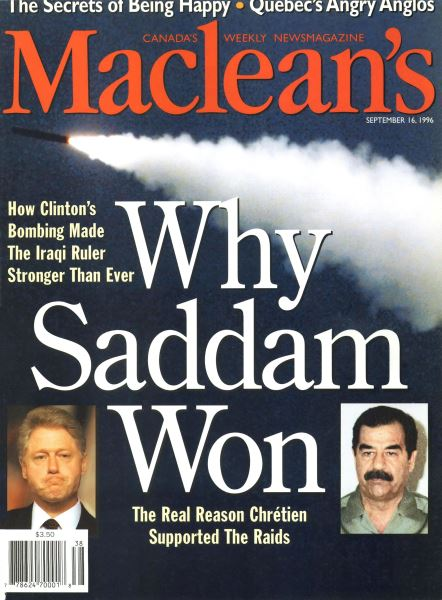 Issue: - September 1996 | Maclean's