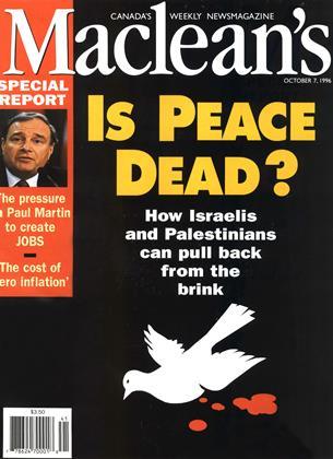 OCTOBER 7, 1996 | Maclean's