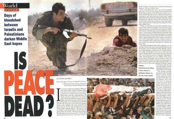 IS PEACE DEAD