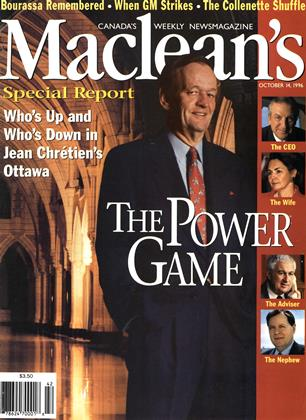 OCTOBER 14, 1996 | Maclean's