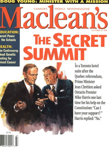 Issue: - October 1996 | Maclean's