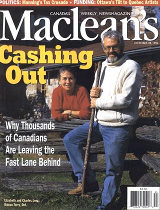 Cover for the October 28 1996 issue