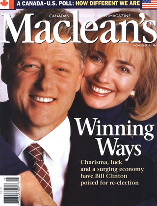 NOVEMBER 4, 1996 | Maclean's