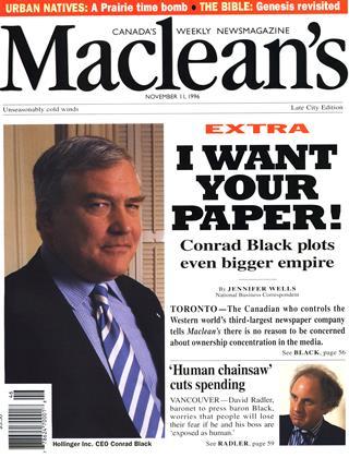 NOVEMBER 11, 1996 | Maclean's
