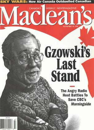 NOVEMBER 18, 1996 | Maclean's
