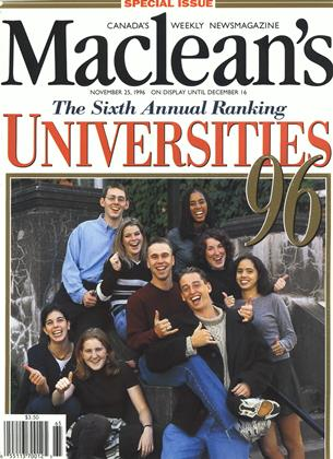 NOVEMBER 25, 1996 | Maclean's