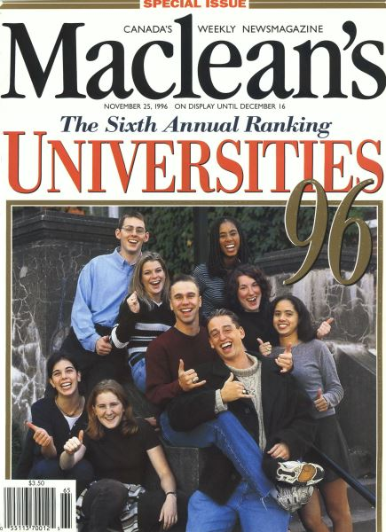 Issue: - November 1996 | Maclean's