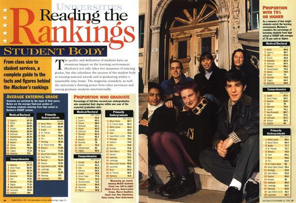 Reading the Ranking