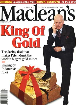Cover for the December 9 1996 issue