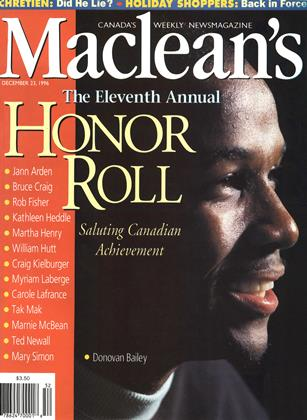DECEMBER 23, 1996 | Maclean's