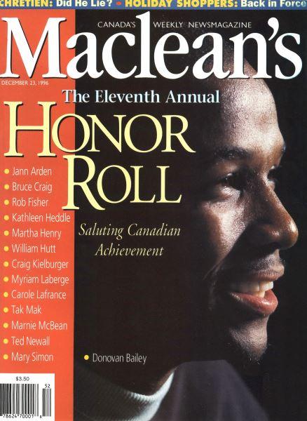 Issue: - December 1996 | Maclean's