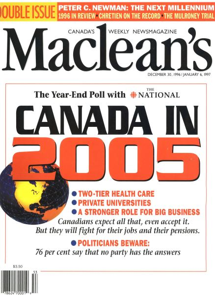 Issue: - DECEMBER 30, 1996/JANUARY 6, 1977 | Maclean's