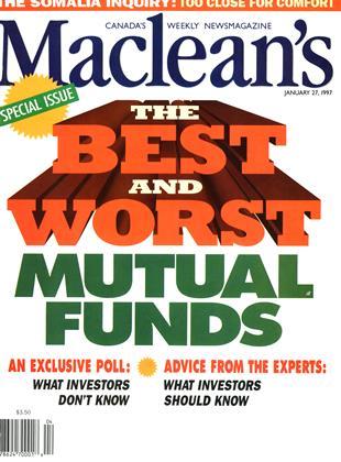JANUARY 27, 1997 | Maclean's