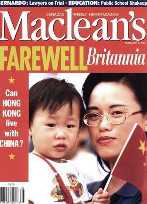 FEBRUARY 3, 1997 | Maclean's