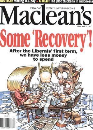 FEBRUARY 17, 1997 | Maclean's