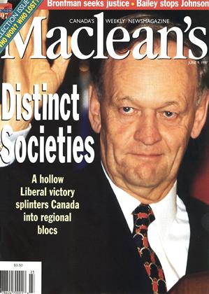 Cover for the June 9 1997 issue